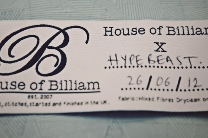 PROCESS: House of Billiam Varsity Jacket