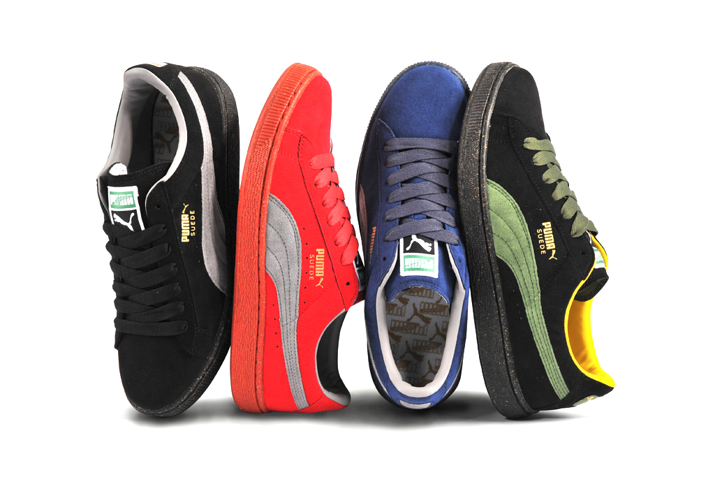 "PUMA ""The List"" Re-Suede Color Pack"
