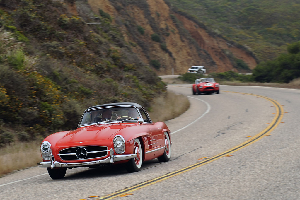 Rare Classic Cars On Display At the 2012 Pebble Beach Tour d'Elegance