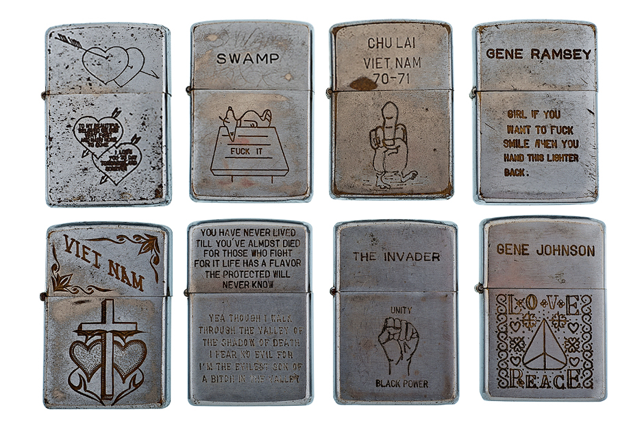 retrospect vintage vietnam war zippo lighters
