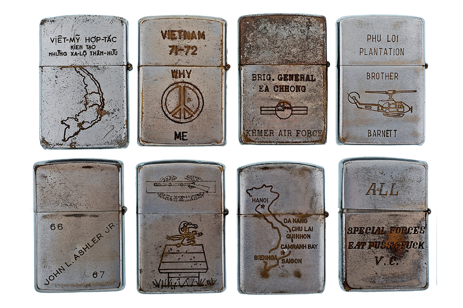 RETROSPECT: Vintage Vietnam War Zippo Lighters