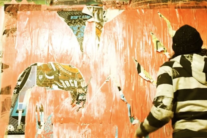"RONE ""DARKEST BEFORE THE DAWN"" Exhibition @ White Walls San Francisco"