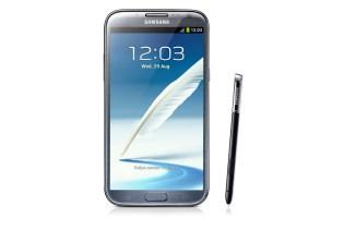 Samsung Debuts Galaxy Note II