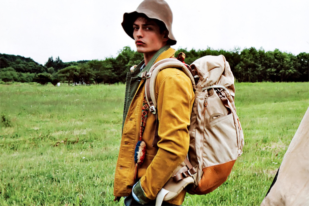 "SENSE Magazine ""TEXT in visvim"" 2012 Fall/Winter Collection Editorial"