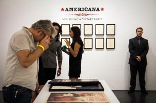 "Shepard Fairey ""Americana"" @ Perry Rubenstein Gallery"