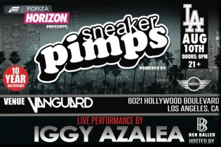 Sneaker Pimps 2012 Kicks Off Its 10th Anniversary USA Tour in Los Angeles
