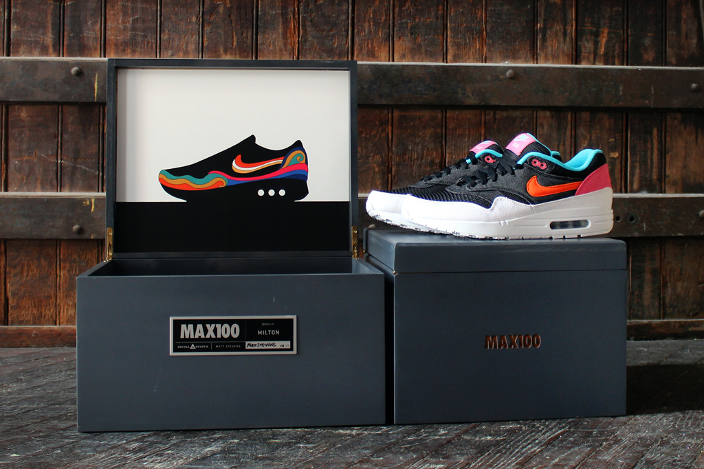 Social Status x MAX100 x Nike Air Max 1 First Five Shoes Revealed