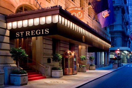 St. Regis Hotel New York Announces Bentley Suite