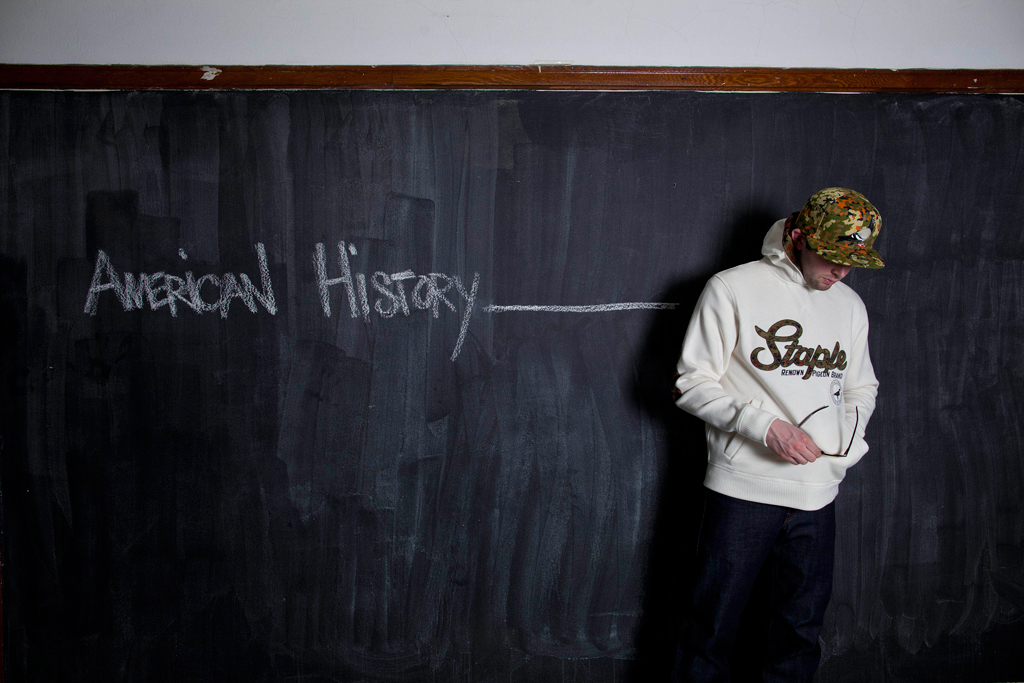 """Staple 2012 Fall/Winter """"American History _______"""" Collection"""