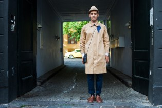 Streetsnaps: Tan / Navy