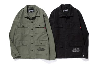 Stussy x Schott NYC Collection