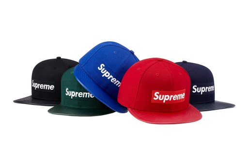 Supreme 2012 Fall/Winter Headwear Collection