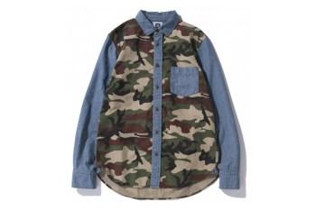 SWAGGER 2012 Fall/Winter Mixed Camo & Chambray Shirts