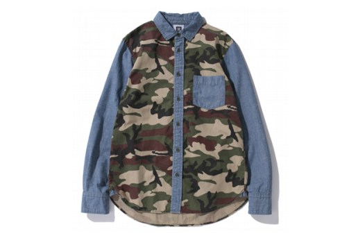 SWAGGER 2012 Fall/Winter Mixed Camo & Chambray Shirts