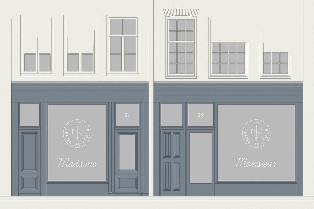 Tenue de Nîmes Readies New Amsterdam Store