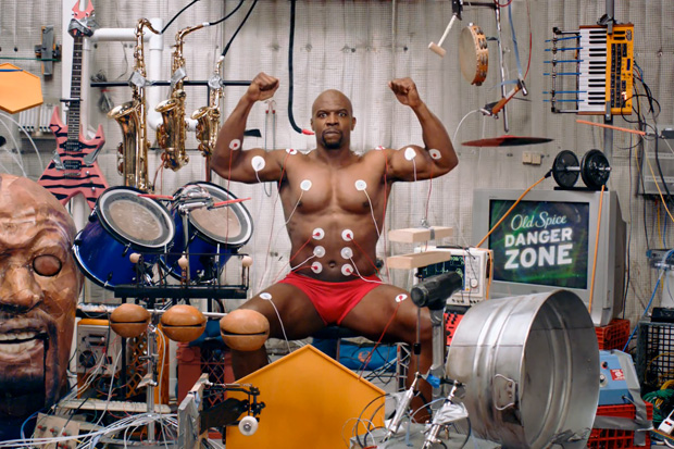 Terry Crews Makes Muscle Music for Old Spice