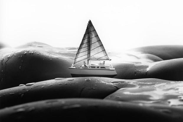 The Body As A Landscape For Minitature Scenes by Allan Teger
