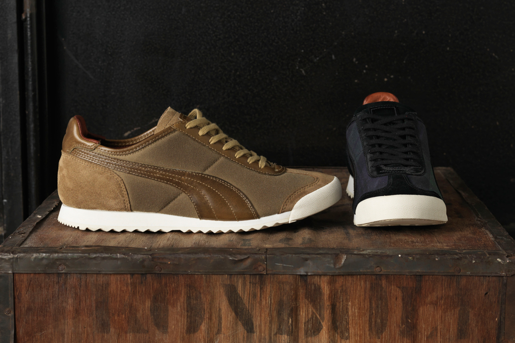 the british millerain co x puma the list 2012 fall winter collection