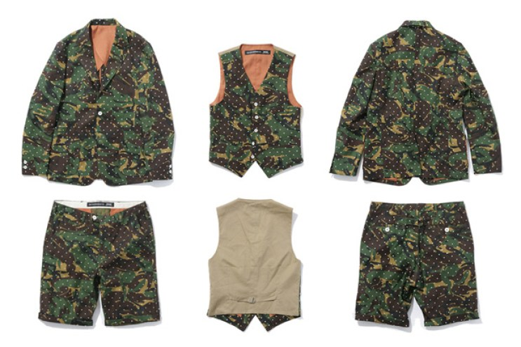 THE CONTEMPORARY FIX x SWAGGER 2012 Fall/Winter Dot Camo Collection