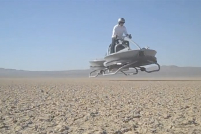 The Hover Bike - A Cooler Version of the Segway?