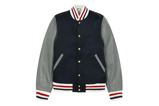 Thom Browne 2012 Fall/Winter Navy Varsity Jacket