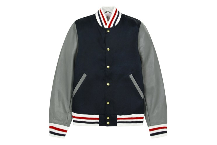 Thom Browne 2012 Fall/Winter Navy Varsity Jacket