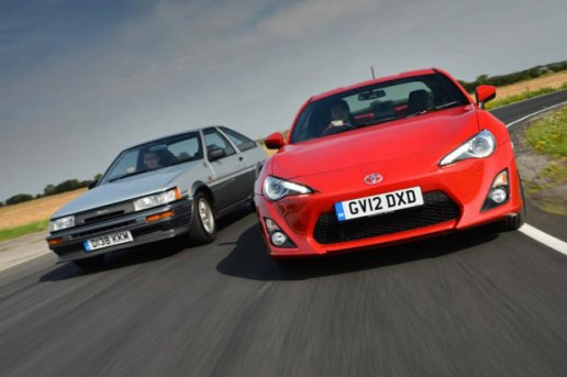 Toyota GT-86 Comes Face-to-Face with its AE86 Predecessor