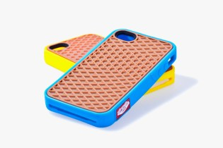 Vans 2012 Rubber Waffle Case for iPhone 4/4S Yellow/Cyan