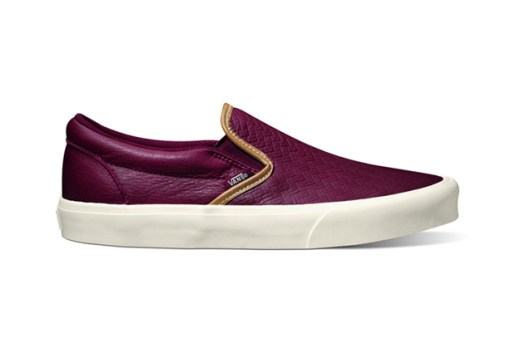 "Vans California 2012 Fall Slip-On CA ""Braided"" Pack"