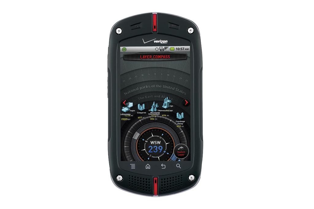 Winner Announcement! 1 of 3 Casio G'zOne Commando Phones!