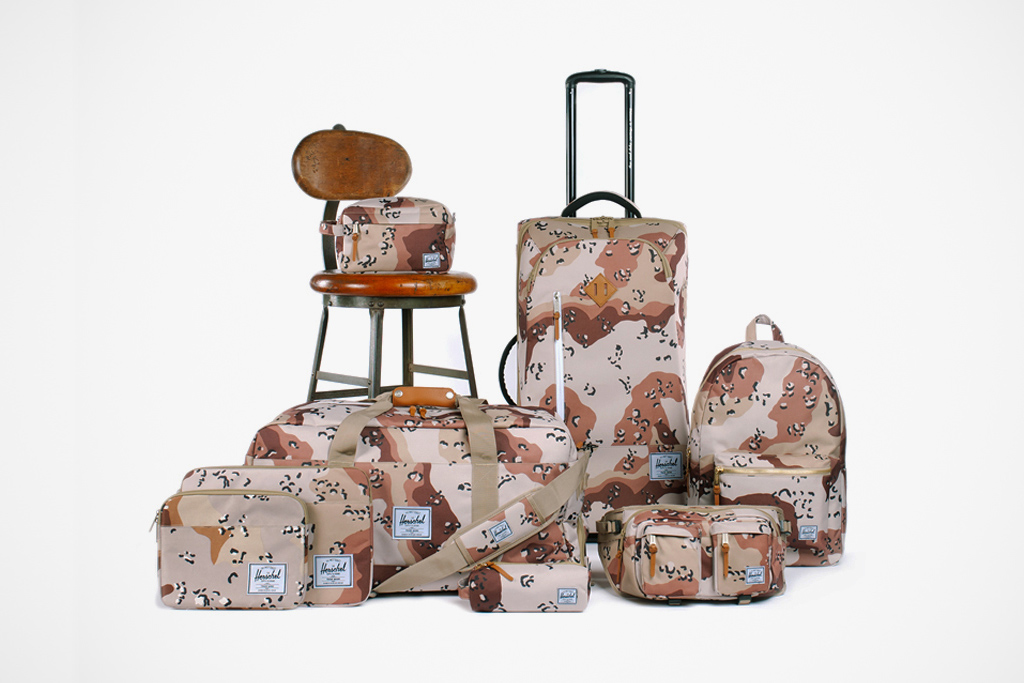 Winner Announcement! Win a Herschel Supply Co. Desert Storm Camo Pack Travel Giveaway!