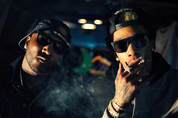 Wiz Khalifa featuring Lil Wayne & Young Jeezy - Work Hard, Play Hard (Remix)
