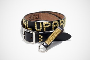 WTAPS x WOLF'S HEAD STUDS Belt & Key Holder