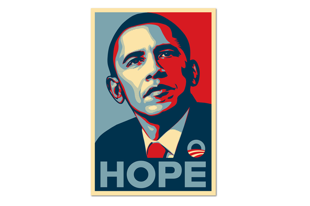 """$25,000 Fine & Two Years Probation for Shepard Fairey's """"Hope"""" Obama Posters"""