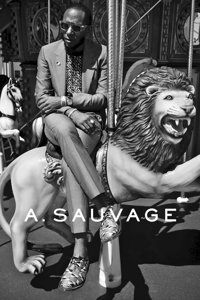 a sauvage on the road with yasiin bey