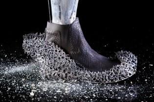 """""""A Wrong Mongrel"""" 3D Footwear Design by Ross Barber"""