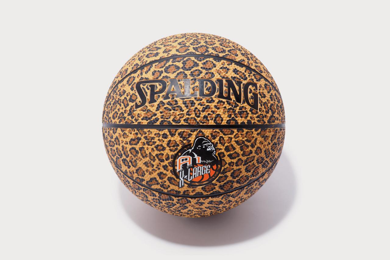 A-1 STORE x XLARGE Leopard Print Spalding Basketball