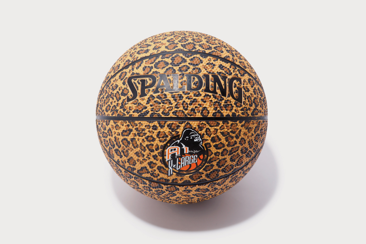 a 1 store x xlarge leopard print spalding basketball