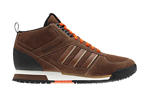 adidas originals zx trail mid strong brown
