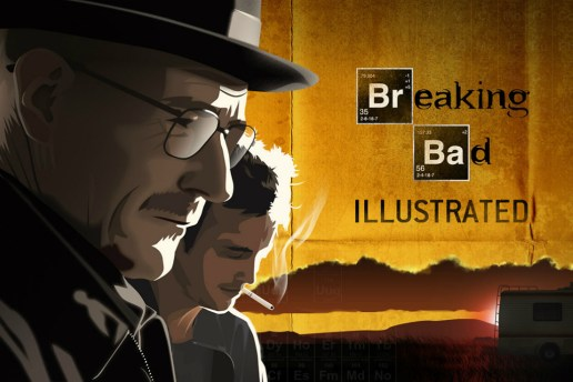 An Illustrated Alternative to Breaking Bad's Opening Sequence by Martin Woutisseth