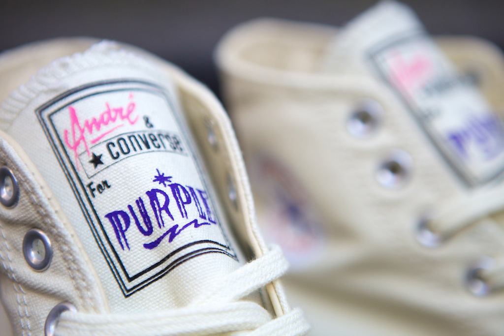 Andre Saravia x Purple Magazine x Converse Chuck Taylor All-Star