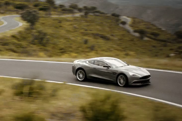 Aston Martin Puts the Brand New Vanquish in Motion