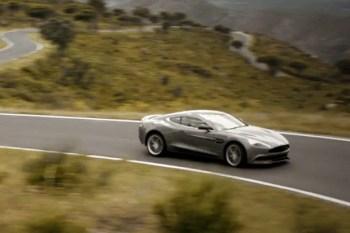 Aston Martin Puts the Brand New Vanquish in Motion