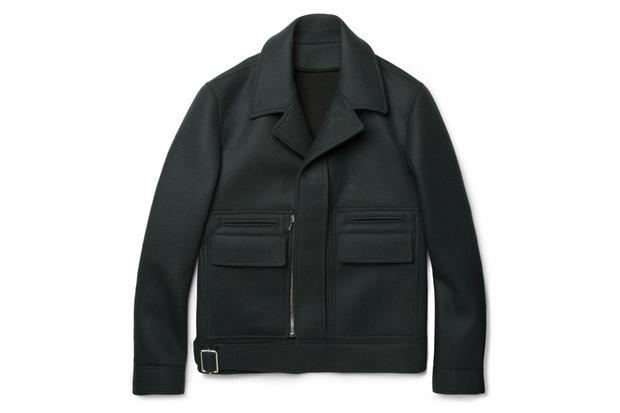 Balenciaga Structured Wool-Blend Jacket