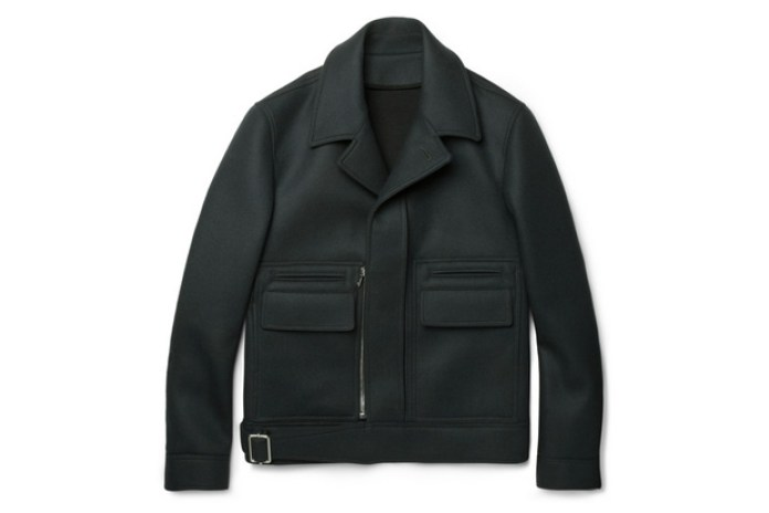 Balenciaga Structured Wool-Blend Jacket