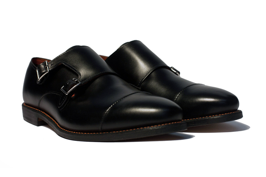 Ball and Buck x Allen Edmonds Double Monk Strap
