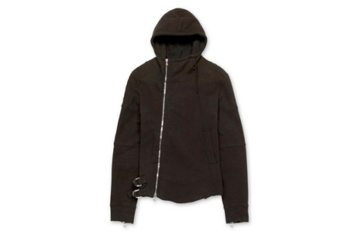 Balmain Biker Sweat Parka