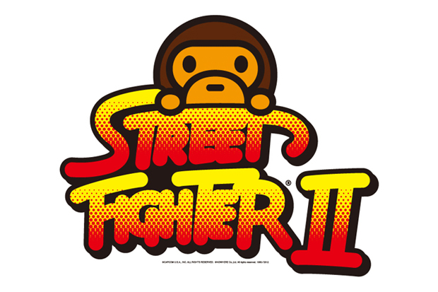 Street Fighter x A Bathing Ape 2012 Capsule Collection