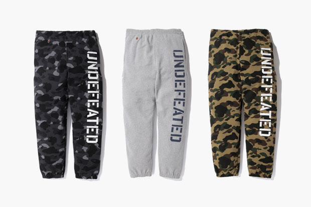 A Bathing Ape x Undefeated 2012 Fall/Winter Collection