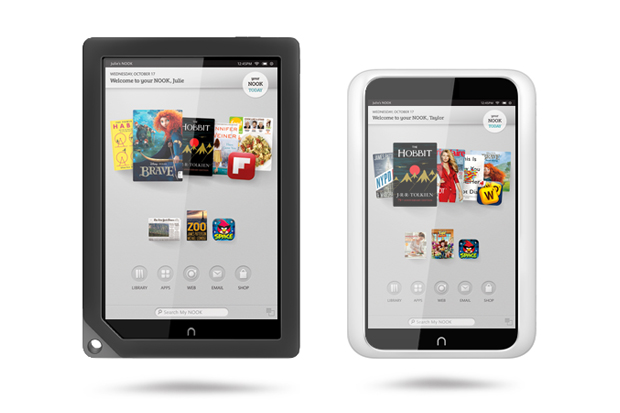Barnes & Noble Introduces Two New Nook Tablets